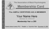 ABPsi Membership Card mobile