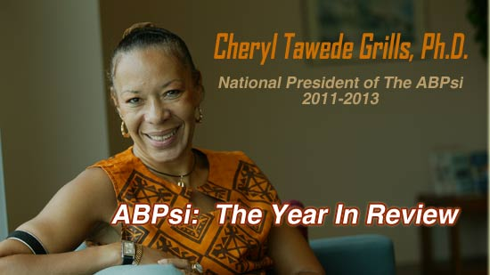 Cheryl Grills - ABPsi Year in review