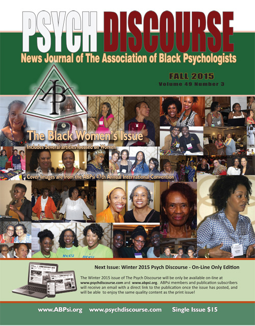 ABPsi News Journal Psych Discourse Fall 2015