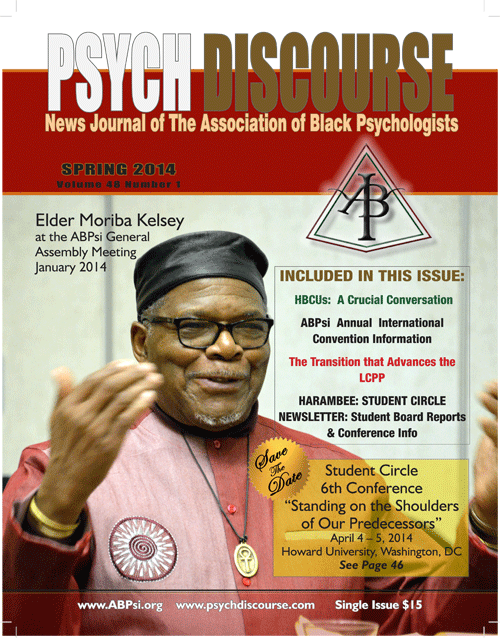 Psych Discourse Spring 2014 Cover